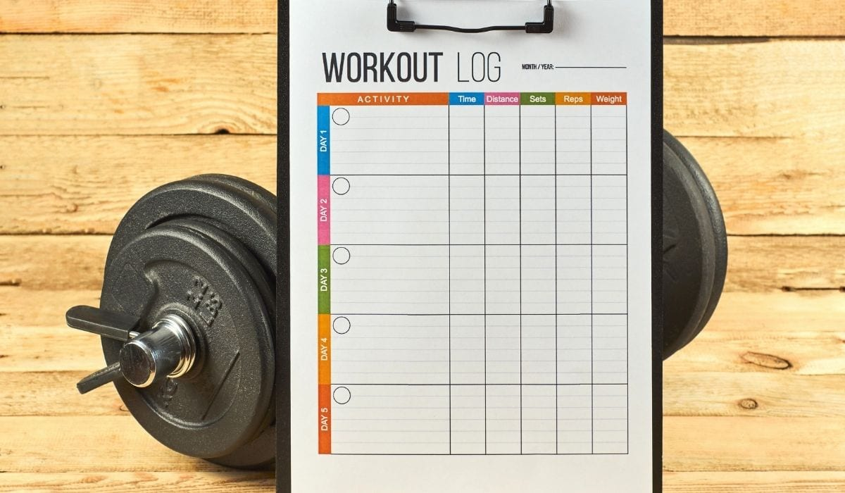 workout log monitoring