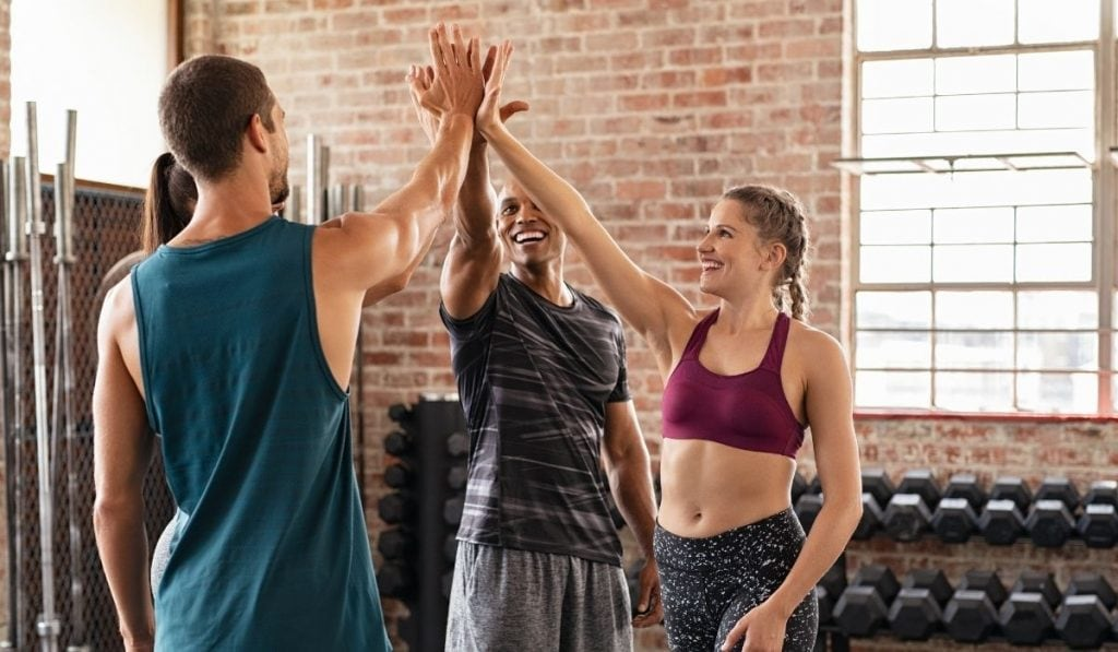 CrossFiter Giving High Five