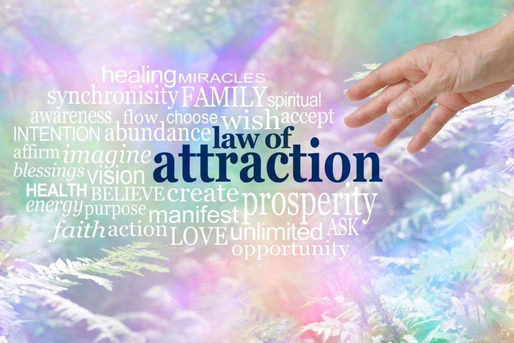 law of attraction word cluster